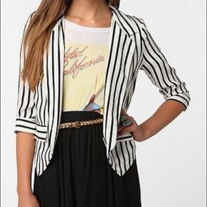 Sparkle & Fade by Urban Outfitters striped blazer